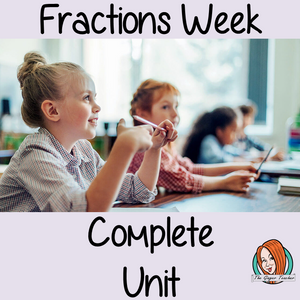 Fractions Complete Week Unit