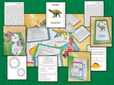 Dinosaurs Escape Room Game  Try this escape room style game with your students today! This is a fun game that is perfect for teaching children about Dinosaurs. This game focuses on students finding out facts and information and using these to solve puzzles. This helps them to learn.  This activity is great for the beginning of a topic to introduce information or at the end to recap.  Students are trying to help an alien understand Dinosaurs and they must solve a series of clues, as well as decode different