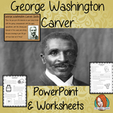 George Washington Carver PowerPoint and Worksheets Lesson Fun history lesson to teach children. Perfect for Black History Month in your classroom, make teaching about his inventions and black history fun and engaging. Great lesson with many facts and activities for your kids to enjoy. his most famous inventions and wonderful quotes.  #lessonplanning #teaching #resources #historylessons #historyplanning #georgewashingtoncarver #blackhistorymonth