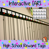 Interactive Classroom growth mind set Reward Tags Give you class something to brag about! These reward tags can be printed and used in your classroom download the free Metaverse AR (augmented reality) app Scan the code and a fun character will appear in your classroom to congratulate the kids! each tag has AR reward that the children collect also parent instruction cards to send home. #ar #augmentedreality #bragtags #rewardtag #awardtags #highschool #growthmindset