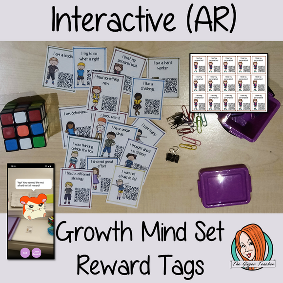 Interactive Classroom growth mind set Reward Tags (brag tags) Give you class something to brag about! These reward tags can be printed and used in your classroom download the free Metaverse AR (augmented reality) app Scan the code and a fun character will appear in your classroom to congratulate the kids! each tag has AR reward that the children collect also the option to take a reward selfie. #ar #augmentedreality #bragtags #rewardtag #awardtags #highschool #growthmindset
