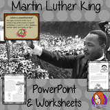 Martin Luther King PowerPoint and Worksheets Lesson Fun history lesson to teach children about Martin Luther King Jr. Perfect for Black History Month in your classroom, make teaching about peaceful protests and black history fun and engaging. Great lesson with many facts and activities for your kids to enjoy. #lessonplanning #teaching #resources #historylessons #historyplanning #martinlutherking #mlk #blackhistorymonth