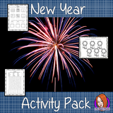 New Year Activity Pack a fun pack for your classroom 14 activities for your children to complete Poem worksheet, Comic Strip, Comparative and superlative worksheet, Comparing this year to last Crossword puzzle Draw your year, Goal setting, Letter to future me, Movie poster, Spelling sheet, Top moments, Wordsearch, Write a diary entry, Write a book blurb. #newyear #classroom #planning #lessons #festive #learning #spelling #resources #teaching #lessonplans #holidays #grammar #backtoschool