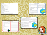 The Planet Earth Reading Comprehension Cards Differentiated reading comprehension cards. Three levels of texts and questions to help children with reading comprehension. This text is on The Planet Earth and has questions to help children understand and draw meaning from the text.