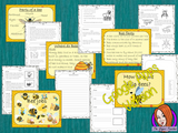 Distance Learning Bees Google Slides Lesson  This pack teaches children about bees in one complete lesson. There is a detailed 57 Google Slide presentation on where bees live, fun bee facts, details about how they make honey, information about the different jobs they do, a look at the different types of bees and a brief look at the parts of a bee. There are also differentiated, 8 page, Google Slides, bees worksheets to allow students to demonstrate their understanding. This pack is great for teaching kids a