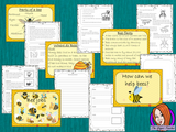 Bees PowerPoint and Worksheets This teaches children about bees in one complete lesson. There is a detailed 57 slide PowerPoint on where bees live, fun bee facts, details about how they make honey, information about the different jobs they do, a look at the different types of bees and a brief look at the parts of a bee. There are also differentiated, 8 page, worksheets to allow students to demonstrate their understanding. This pack is great for teaching kids all about bees.  #teaching #bees #science