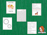 Cinco de Mayo Escape Room Game     Try this escape room style game with your students today! This is a fun game that is perfect for teaching children about Cinco de Mayo. This game focuses on students finding out facts and information and using these to solve puzzles. This helps them to learn.     This activity is great for the beginning of a topic to introduce information or at the end to recap.     Students are trying to help an alien understand Cinco de Mayo and they must solve a series of clues, as well