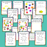 Color 'Yellow' 16 Page Workbook Help your children practice recognizing and writing the color yellow, with 15 pages of activities to select and color. The 15 pages contain, object coloring, tracing, spelling the color word and picking out the yellow objects. #learncolors #teachcolors
