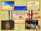 Grammar Practice Escape Room Children can practice grammar facts with this fun digital escape room. Children will need to explore grammar island answer questions and collect information to solve the puzzles and eventually escape the island. No printing required This game uses Boom Cards and you will need a Boom card account to play it which is free
