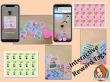 Reading Achievements Common Core Reward Tags (brag tags) Give you class something to brag about! These reward tags can be printed and used in your classroom for behaviour management. Children love to collect them all so they are a perfect behavior management system, although there is more to these tags than meets the eye! Scan the code and a fun character will appear in your classroom to congratulate the kids #bragtags #rewardtag #awardtags