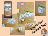 Interactive Classroom English Language Reward Tags (brag tags) Give you class something to brag about! These reward tags can be printed and used in your classroom download the free Metaverse AR (augmented reality) app Scan the code and a fun character will appear in your classroom to congratulate the kids! Each tag has AR reward that the children collect also the option to take a reward selfie. #ar #augmentedreality #bragtags #rewardtag #awardtags