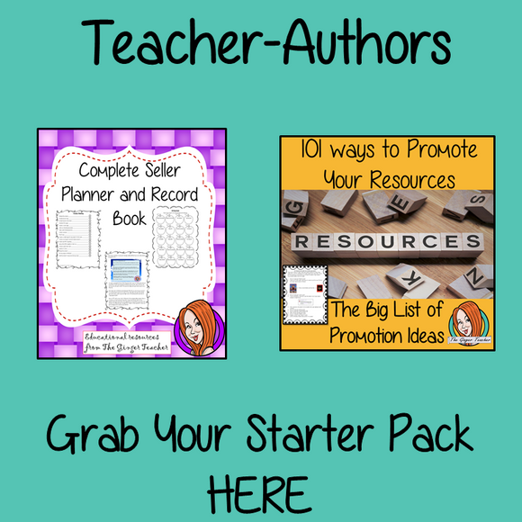 Teacher-Author starter