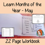 Months of the Year Pre-School Activities - May