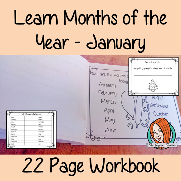 Months of the Year Pre-School Activities - January