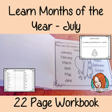 Months of the Year Pre-School Activities - July