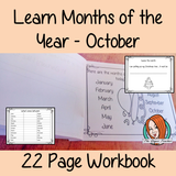 Months of the Year Pre-School Activities - October