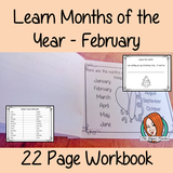 Months of the Year Pre-School Activities - February