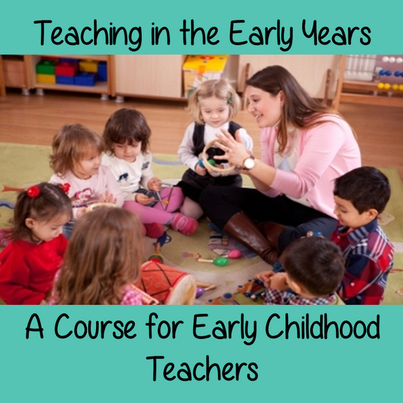 Teaching in the Early Years – Becoming a Better Early Years Practitioner  A Course for Early Childhood Teachers  You as an early years teacher, are an important part of a child's development. The early years are important because young children's learning about the world and themselves has a direct effect on the adults they will become. It is vital that we as educators support, nurture and educate their emotional, social and physical development.