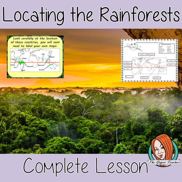 Where are the Rainforests Located? Complete Lesson