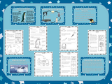 Emperor Penguins Lesson PowerPoint and Worksheets
