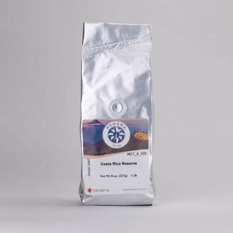 Costa Rica Reserve Coffee - Hendma