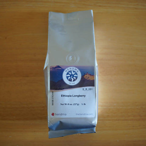 Hendma Ethiopia Longberry Coffee
