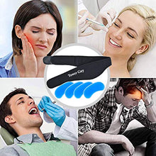 Face Ice Pack for Jaw, Head, and Chin –Hot and Cold Gel Pack for Wisdom Teeth and TMD TMJ Pain Relief, Oral Pain, Facial Surgery, Dental Implants—Adjustable Stretch Wrap Include Four Soft Gel Packs