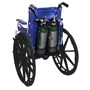 Double Oxygen Bottle Bag Oxygen Tank Holders Thickening Models Package for Wheelchairs