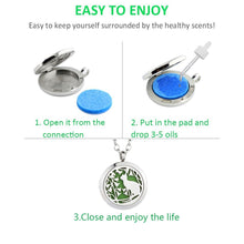 GelConnie Essential Oil Diffuser Necklace Aromatherapy Pendant Stainless Steel Locket Fragrance Jewelry for Women, Sister, Wife Cat Diffuser Necklace