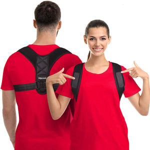 Posture Corrector for Women Men,iUpcoot Upper Back Posture Corrector Comfortable Adjustable Posture Support for Clavicle,Invisiable Back Brace for Neck Back Shoulder Pain Relief L