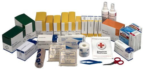 First Aid Only 6155R 489 Piece 3 Shelf First Aid Station Refill Kit