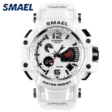 SMAEL Men's S-Shock Waterproof LED Digital Watch