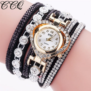CCQ Brand Fashion Luxury Women's Rhinestone Bracelet