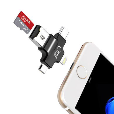 4 in 1 SanDdisk 32GB/64GB/128GB Pendrive OTG for Smartphones