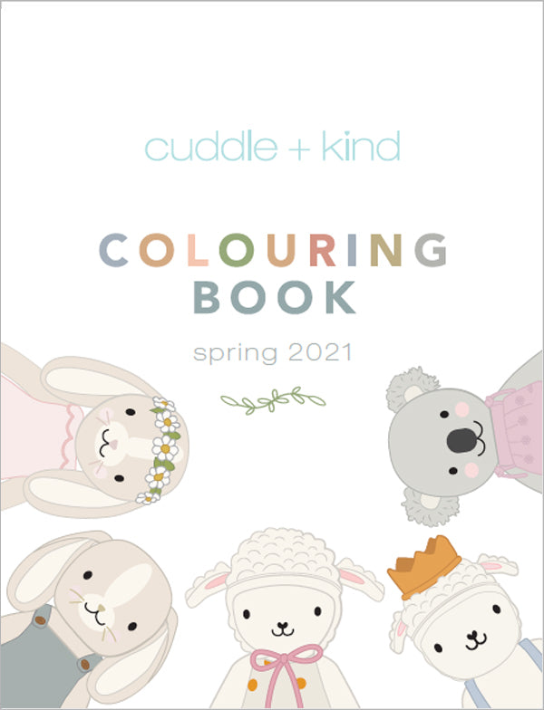 2021 spring cuddle+kind colouring