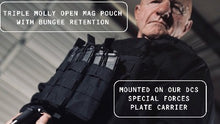 Load image into Gallery viewer, Triple Open Rifle Mag Pouch