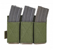 Load image into Gallery viewer, Triple Velcro Rifle Mag Pouch