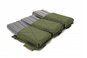 Triple Velcro Rifle Mag Pouch