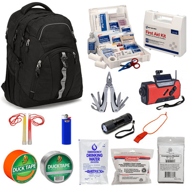 Bullet Resistant Backpack Safety Kit