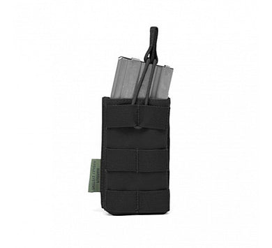 MOLLE Open Rifle Mag Pouch with Bungee