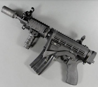 AR folding stock adaptor