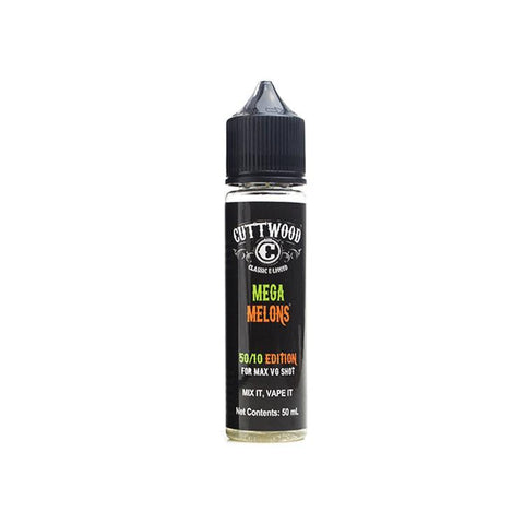Cuttwood Mega Melons 50ml Shortfill (Includes nic shot) - NexusVapourUK