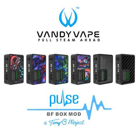 VandyVape Pulse 80w Squonk Mod With Vandy Chip - NexusVapourUK