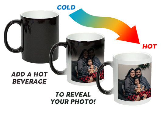 Surprise Them With a Personalized Heat Changing Mug | Custom Gifts Toronto