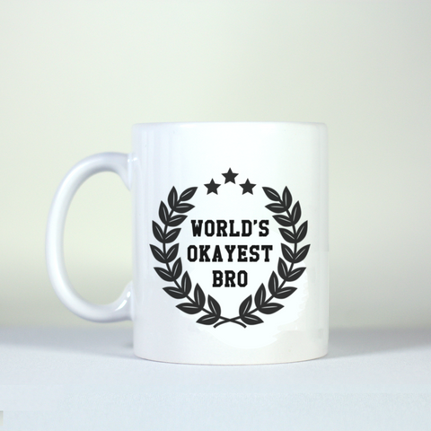 Novelty Award Gift Mug With Customized Message