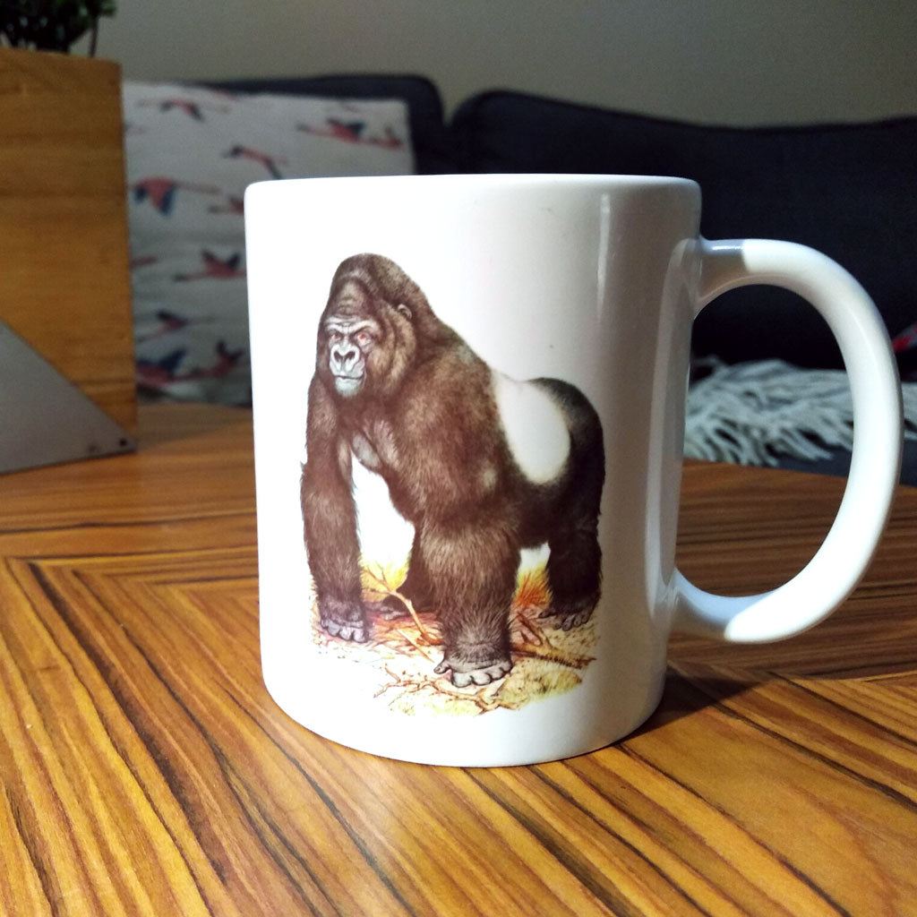 Cup With Picture of Science Book Gorilla from Toronto Gift Store What The Mug