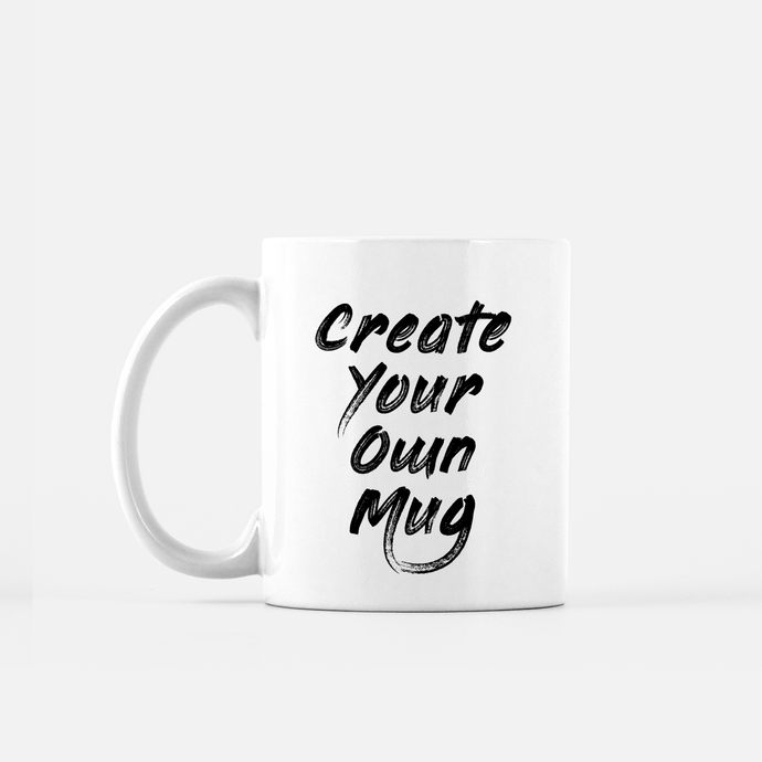 design your own custom mug create DIY online customizer free