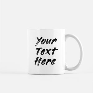 put your own text on a mug edit custom desired image
