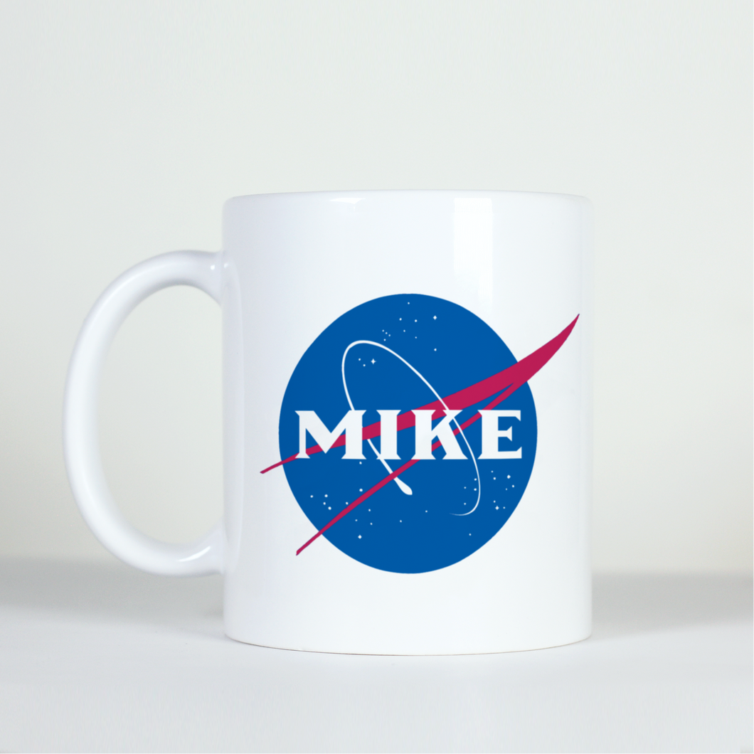 Custom Space Logo Mug