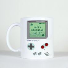 Load image into Gallery viewer, zelda mario nintendo happy birthday mug